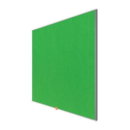 Nobo 55 inch Widescreen Felt Board 1220x690mm Green Ref 1905316