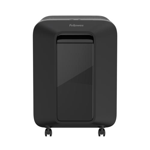 Fellowes LX201 Shredder Micro Cut P-5 Black Ref 5160101