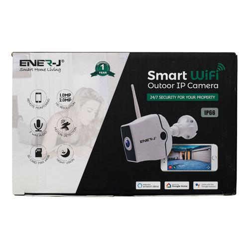 Ener-J WiFi Outdoor IP HD Security Camera With Two Way Audio Ref IPC1021