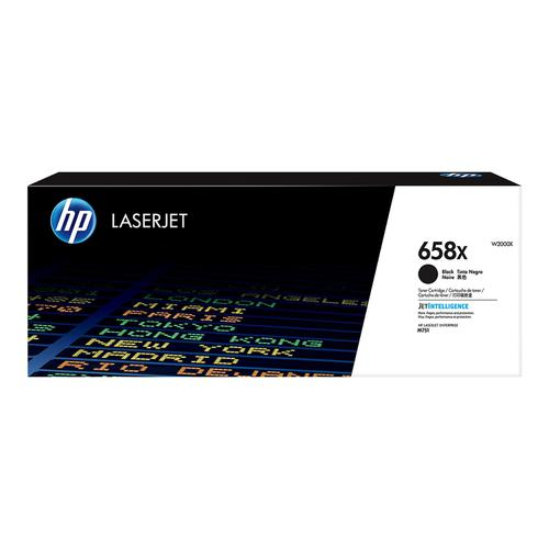 Hewlett Packard 658X Laser Toner Cartridge High Yield Page Life 33,000pp Black Ref W2000X