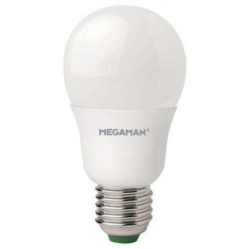 Megaman 9.5W Opal Classic Bulb LED Edison Screw E27 GLS 810Lm Cool White Ref 143372