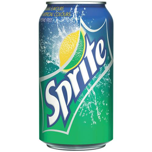 Sprite Lemon and Lime Soft Drink Can 330ml Ref N004259 [Pack 24]