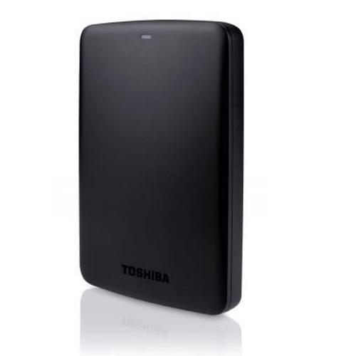 Toshiba Canvio Basics Hard Drive USB 3.0 and 2.0 Compatible 1TB Black Ref HDTB310EK3AA