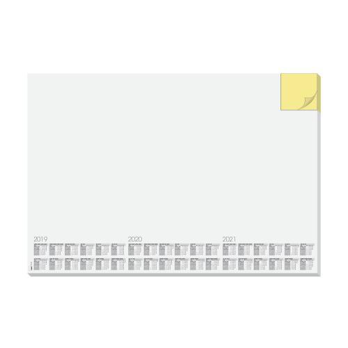 Sigel Desk Paper Pad Memo And Calendar 595x410mm White Ref HO490
