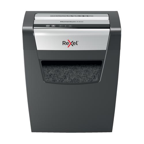 Rexel Momentum X410 Cross Cut Shredder P-4 Ref 2104571