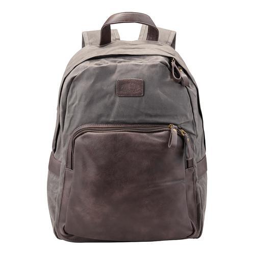 Pride and Soul Sensation 15inch Laptop Backpack Grey/Brown Ref 47301