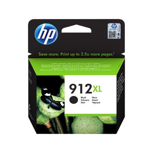 Hewlett Packard 912XL Inkjet Cartridge High Yield Page Life 825pp 21.7ml Black Ref 3YL84AE