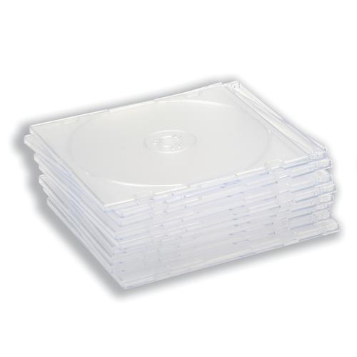 CD Slimline Jewel Case Clear [Pack 100]