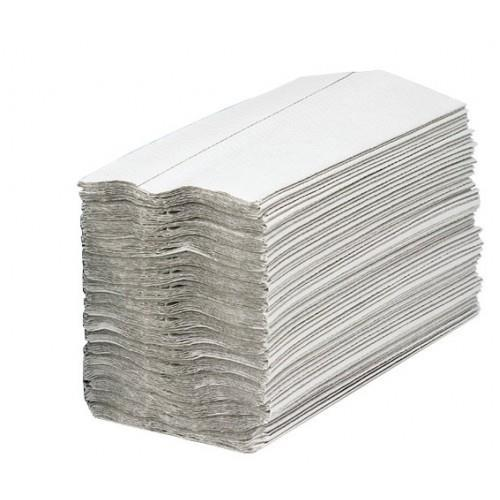 Maxima Hand Towels C-Fold 2-Ply White 100% Recycled 160 Sheets Per Sleeve Ref 1104061 [15 Sleeves]