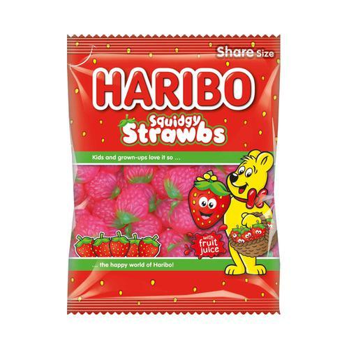 Haribo Giant Strawbs 140g Ref 95730