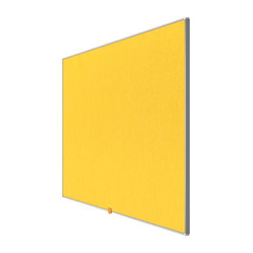 Nobo 55 inch Widescreen Felt Board 1220x690mm Green Ref 1905320
