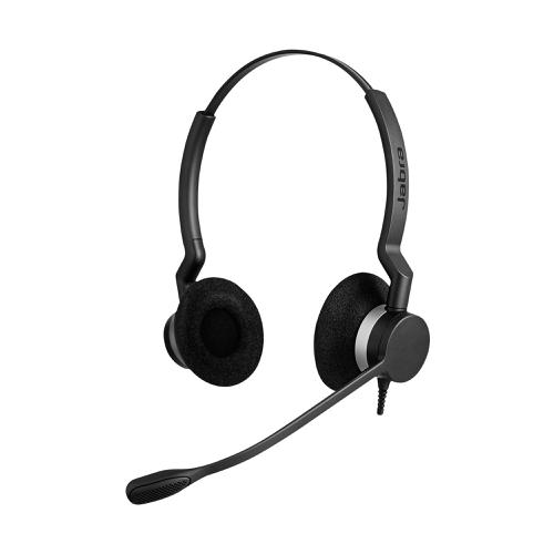 Jabra BIZ 2300 Dual Headset With Noise Cancelling Microphone Ref 2309-820-104