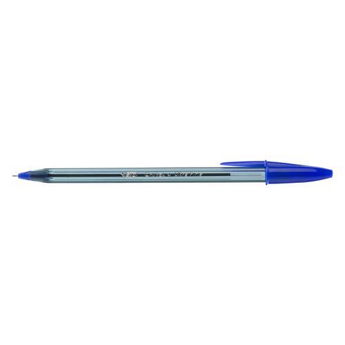 BIC Cristal Exact Ballpoint Pens Ultra Fine 0.7mm Tip Blue Ref 992605 [Pack 20]