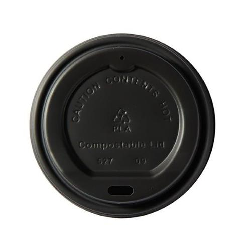 Ingeo Kraft Hot Cup 8oz PLA Plastic Lids Ref 44885 [Pack 50]
