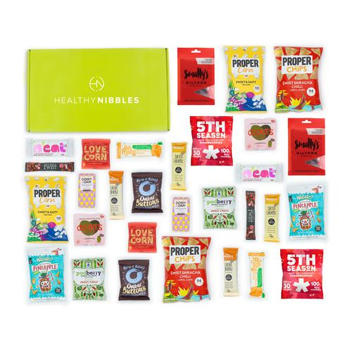 Healthy Nibbles Nut Free Snack 30 Piece Office Box Ref NutFree30 *Up to 2-3 Day Leadtime*