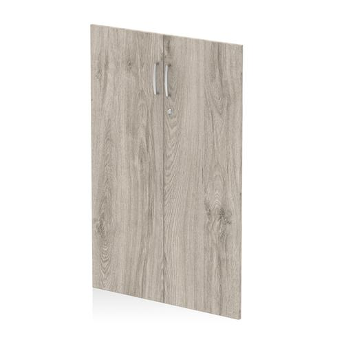 Trexus Door Pack For 1200mm High Cupboard Grey Oak Ref I003232