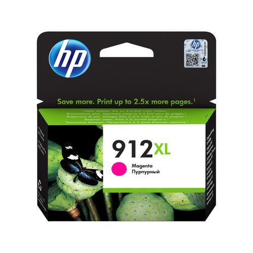 Hewlett Packard 912XL Inkjet Cartridge High Yield Page Life 825pp 10.4ml Magenta Ref 3YL82AE