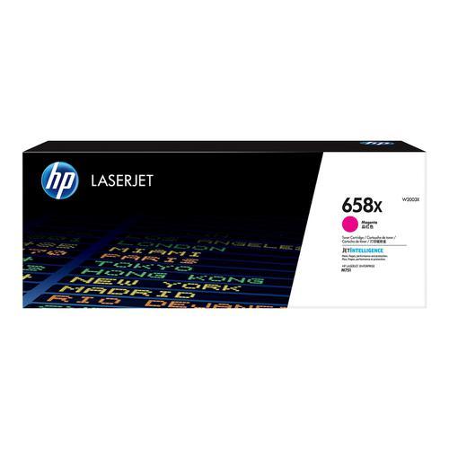 Hewlett Packard 658X Laser Toner Cartridge High Yield Page Life 28,000pp Magenta Ref W2003X