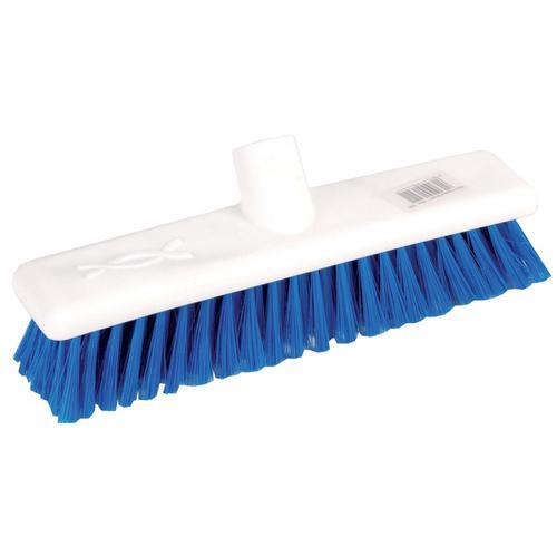 Robert Scott & Sons Abbey Hygiene Broom 12inch Washable Soft Broom Head Blue Ref BHYRS12SBL