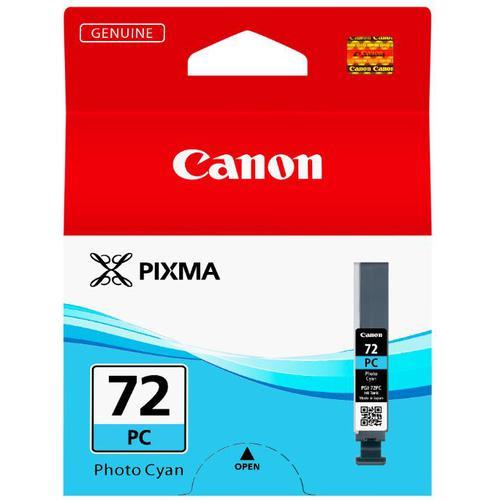 Canon PGI-72 Inkjet Cartridge Page Life 351pp 14ml Photo Cyan Ref 6407B001