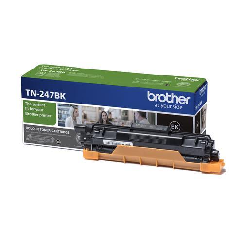 Brother TN247BK Toner Cartridge High Yield 3000pp Black TN247BK