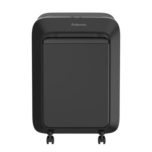 Fellowes LX211 Shredder Micro Cut P-5 Black Ref 5050201