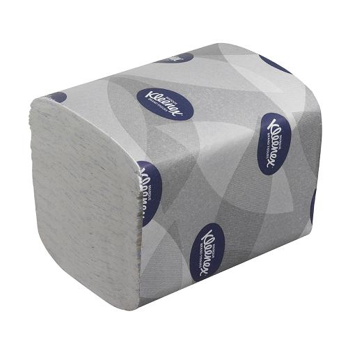 Kleenex Ultra Toilet Tissue Bulk Pack Folded 200 Sheets per Sleeve 2-ply White Ref 8408 [Pack 36]