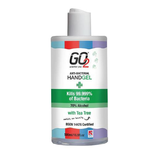 Hand Sanitiser 70% Alcohol 500ml With Disc Cap [Pack 6]