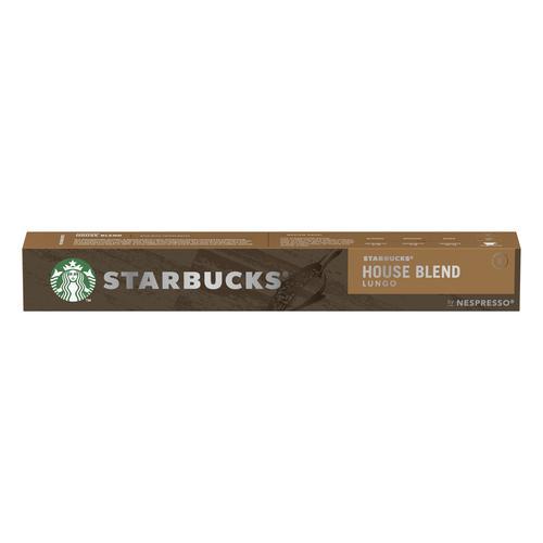 Starbucks by Nespresso House Blend Lungo 12x57g 120 Pods Ref 12423278