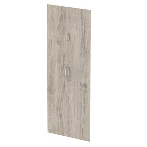 Trexus Door Pack For 2000mm High Cupboard Grey Oak Ref I003234