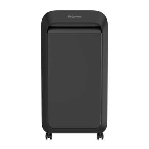 Fellowes LX221 Shredder Micro Cut P-5 Black Ref 5050401