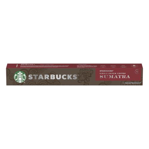 Starbucks by Nespresso Sumatra Espresso 12x55g 120 Pods Ref 12423376