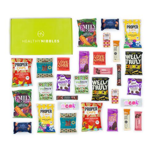 Healthy Nibbles 60 Piece Office Box Ref Health60 *Up to 2-3 Day Leadtime*