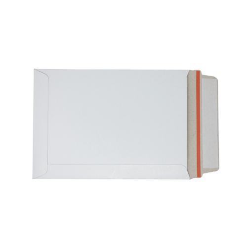 White Board Envelopes Peel & Seal C5+ 241x178mm White Ref AB10345 [Pack 100]