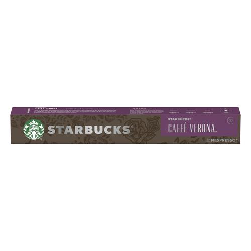 Starbucks by Nespresso Caffe Verona Espresso 10x12x55g 120 Pods Ref 12423396
