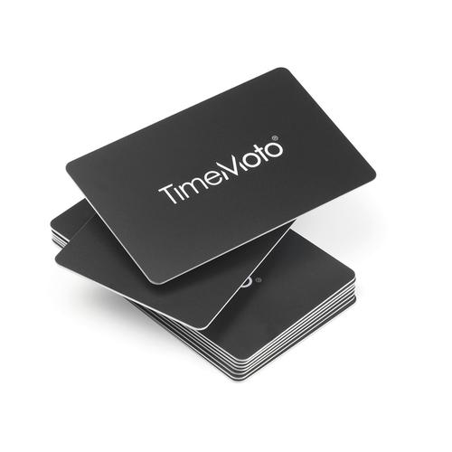 TimeMoto by Safescan RF-100 Cards RFID for TimeMoto & Safescan Terminals Ref 125-0603 [Pack 25]