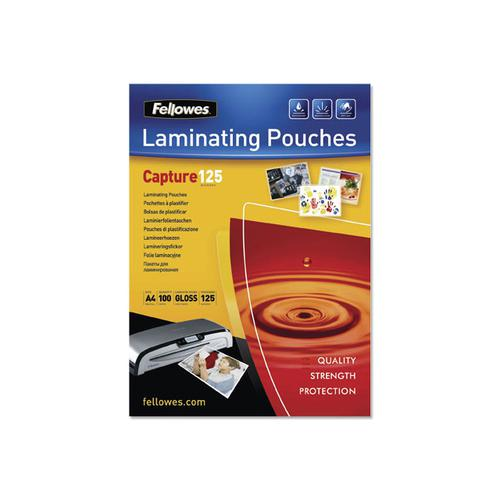 Fellowes Laminating Pouches 250 Micron A4 Ref 5307407 [Pack 100]