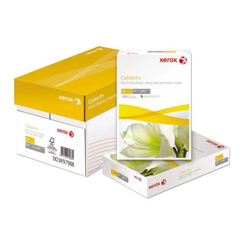 Xerox Colotech+ Paper Super Smooth Finish Wrapped 160gsm A3 White Ref 003R98854 [Pack 250]