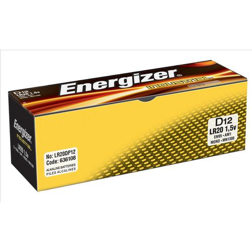 Energizer Industrial Battery Long Life LR14 1.5V C Ref 636108 [Pack 12]