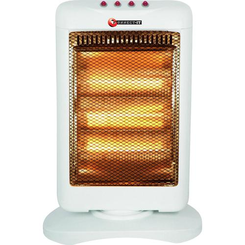 Connect-it Halogen Heater 3 Bars 350/700/1050W W370xD270xH490mm 1.6kg Ref ES1242