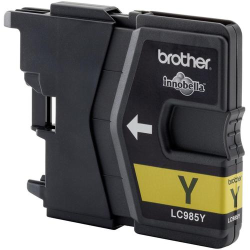 Brother Inkjet Cartridge Page Life 260pp Yellow Ref LC985Y