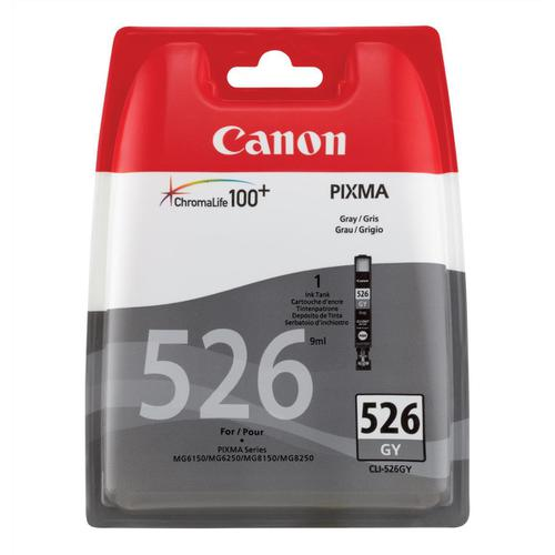 Canon CLI-526GY Inkjet Cartridge Page Life 171pp 9ml Grey Ref 4544B001