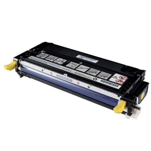 Dell XG724 Laser Toner Cartridge High Yield Page Life 8000pp Yellow Ref 593-10173