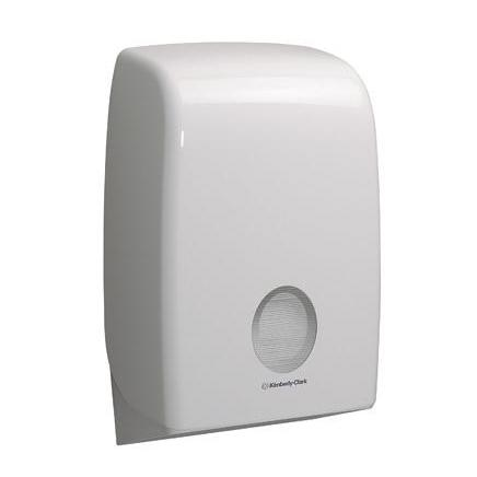 Kimberly Clark AQUARIUS* Hand Towel Dispenser W265xD136xH399mm Plastic White Ref 6945