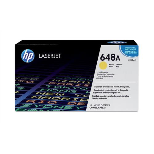 HP 648A Laser Toner Cartridge Page Life 11000pp Yellow Ref CE262A