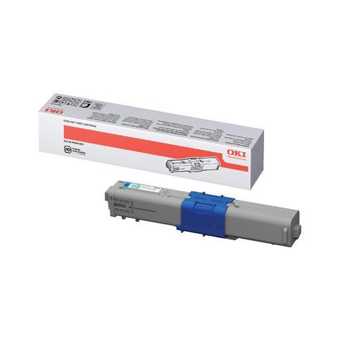 OKI Laser Toner Cartridge High Yield Page Life 5000pp Cyan Ref 44469724