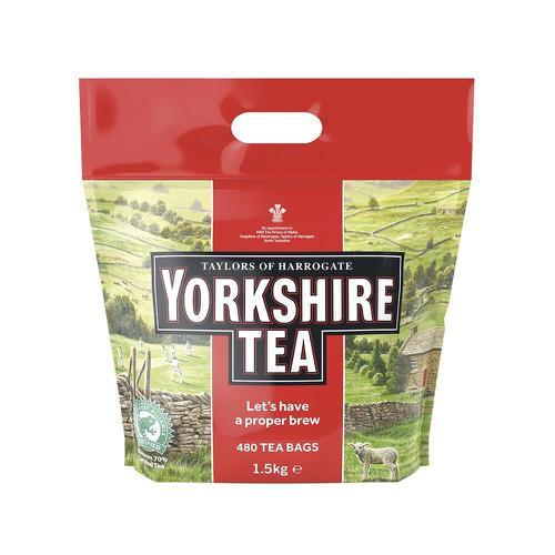 Yorkshire Tea Bags Ref 0403167 [Pack 480]