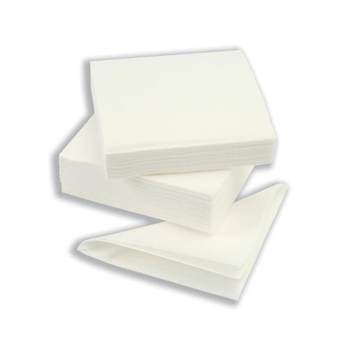 Napkin High Quality Single Ply 390x390mm White Ref D04457 [Pack 600]