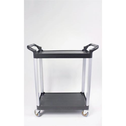 5 Star Facilities Utility Tray Trolley Standard 2 Shelf Capacity 100kg W460xD750xH940mm by The OT Group, 271624
