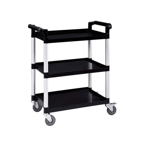5 Star Facilities Utility Tray Trolley Standard 3 Shelf Capacity 150kg W460xD750xH980mm by The OT Group, 271632